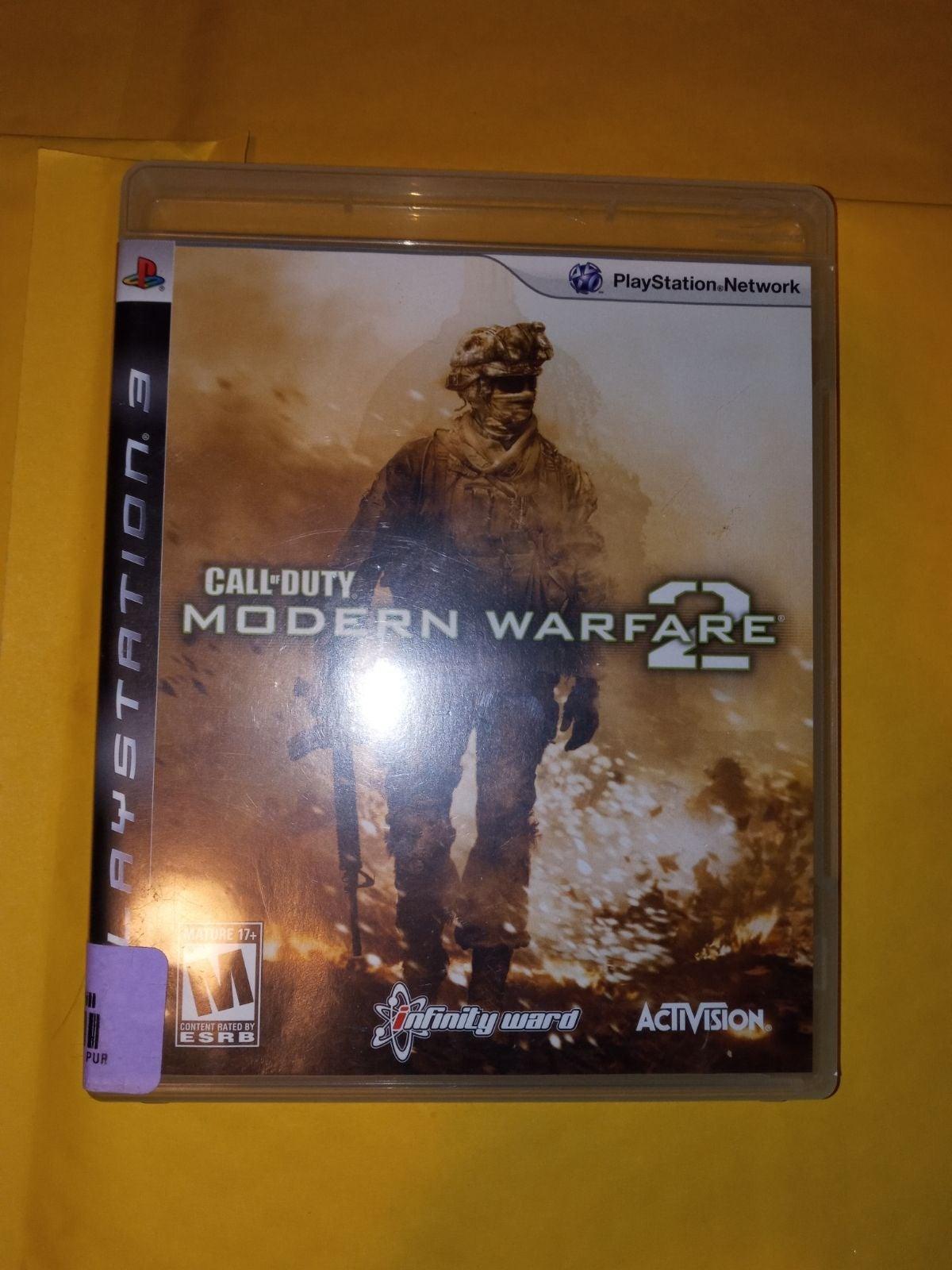 Call of Duty Mw2 On Ps3 ( CIB )
