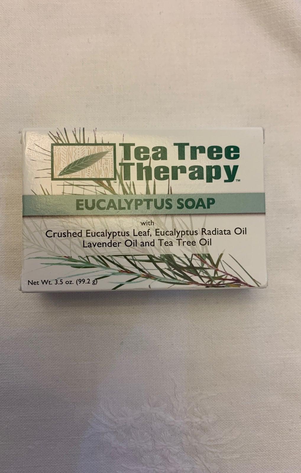 Tea Tree Therapy Eucalyptus Soap -2 bars