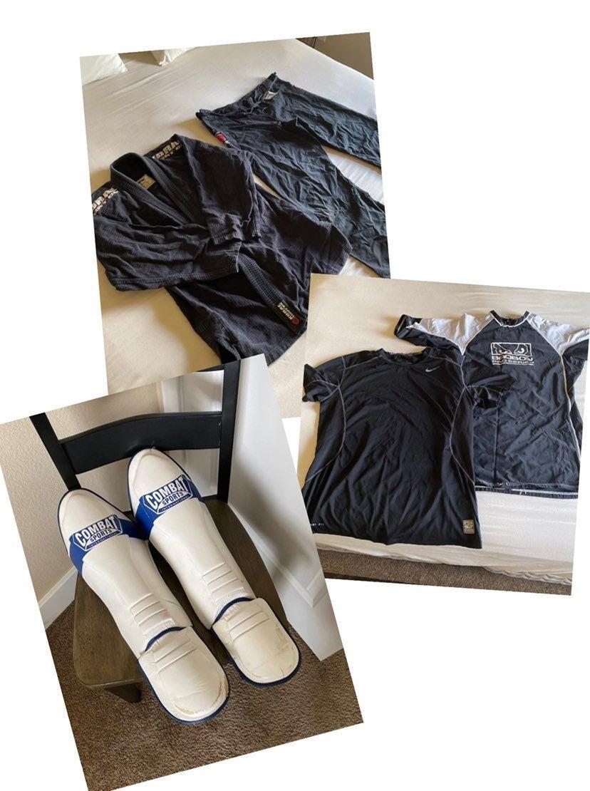 mixed martial arts gear bundle