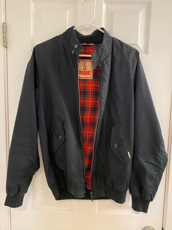 Baracuta G9 harrington jacket navy sz 36