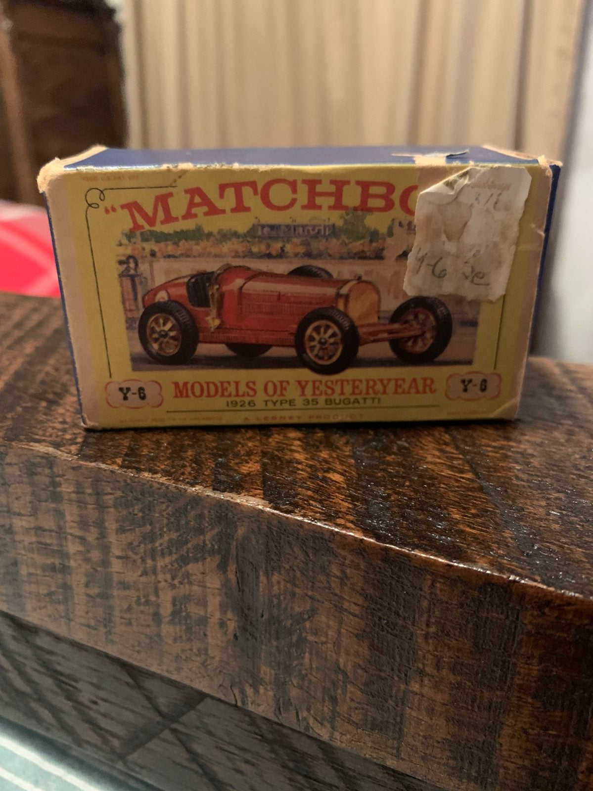 1961 MATCHBOX MODELS OF YESTERYEAR just