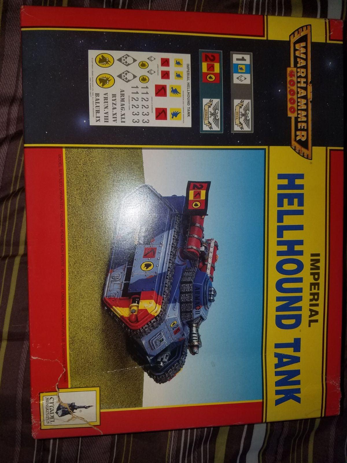 Warhammer 40k Imperial Guard Hellhound