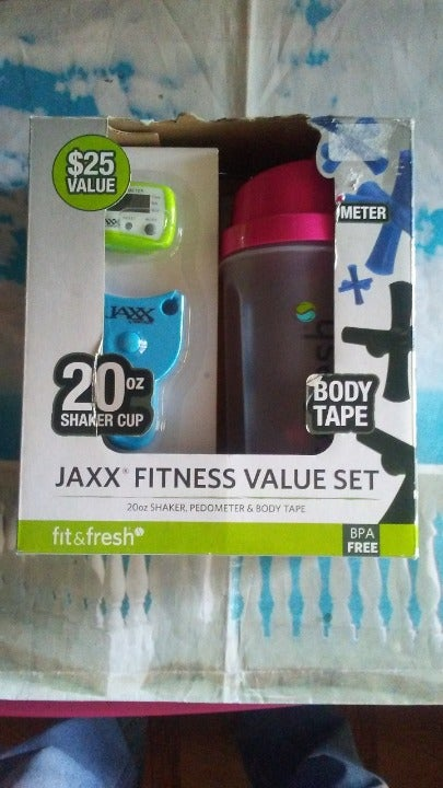JAXX FITNESS VALUE SET METER BODY TAPE +