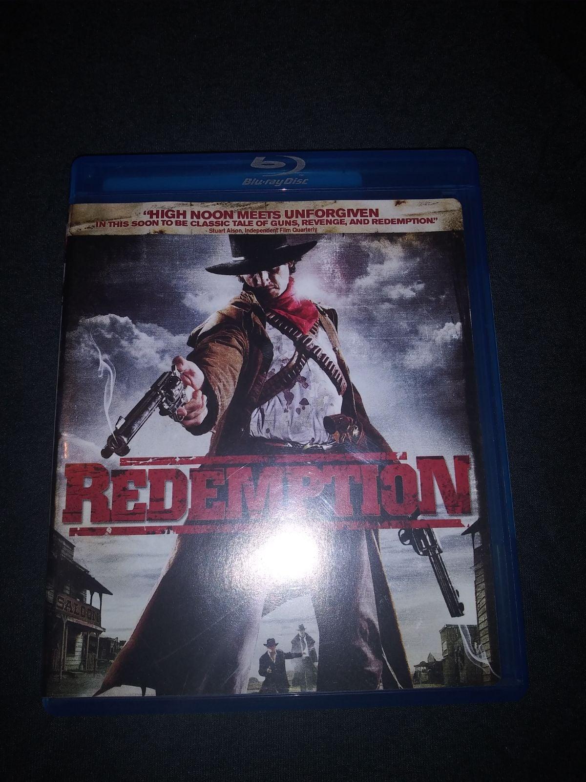 Redemption western blu ray movie