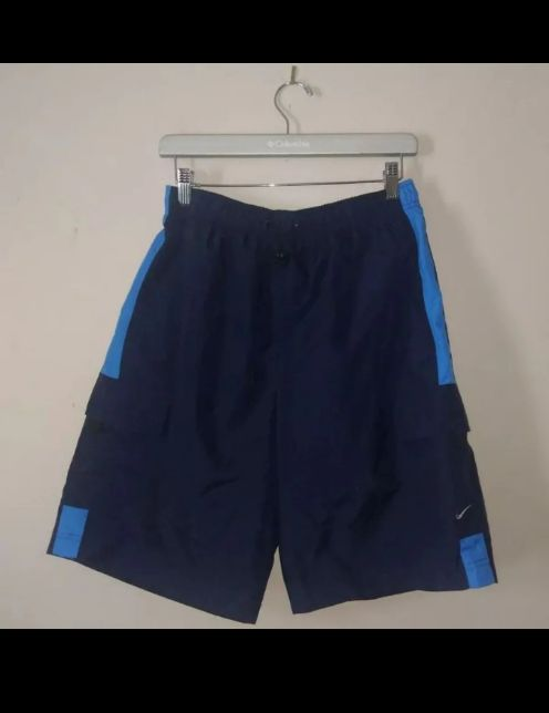 New Nike Swim Trunks Shorts Blue Men