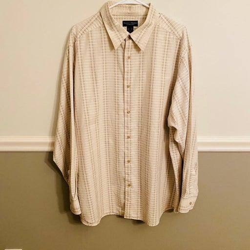 Men's Crazy Horse Button Up Shirt XXL