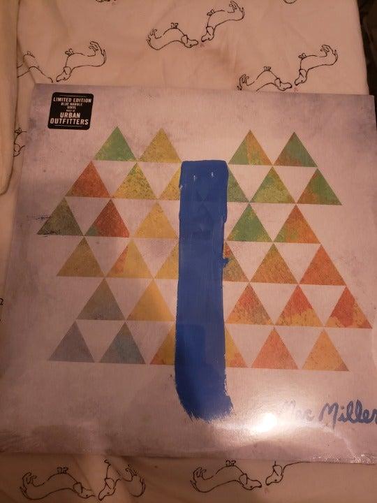 Mac Miller Blue Slide Park Blue Vinyl