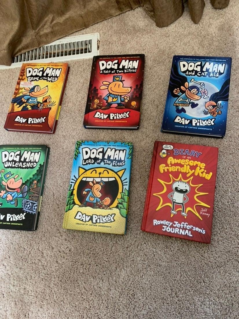 dog man books