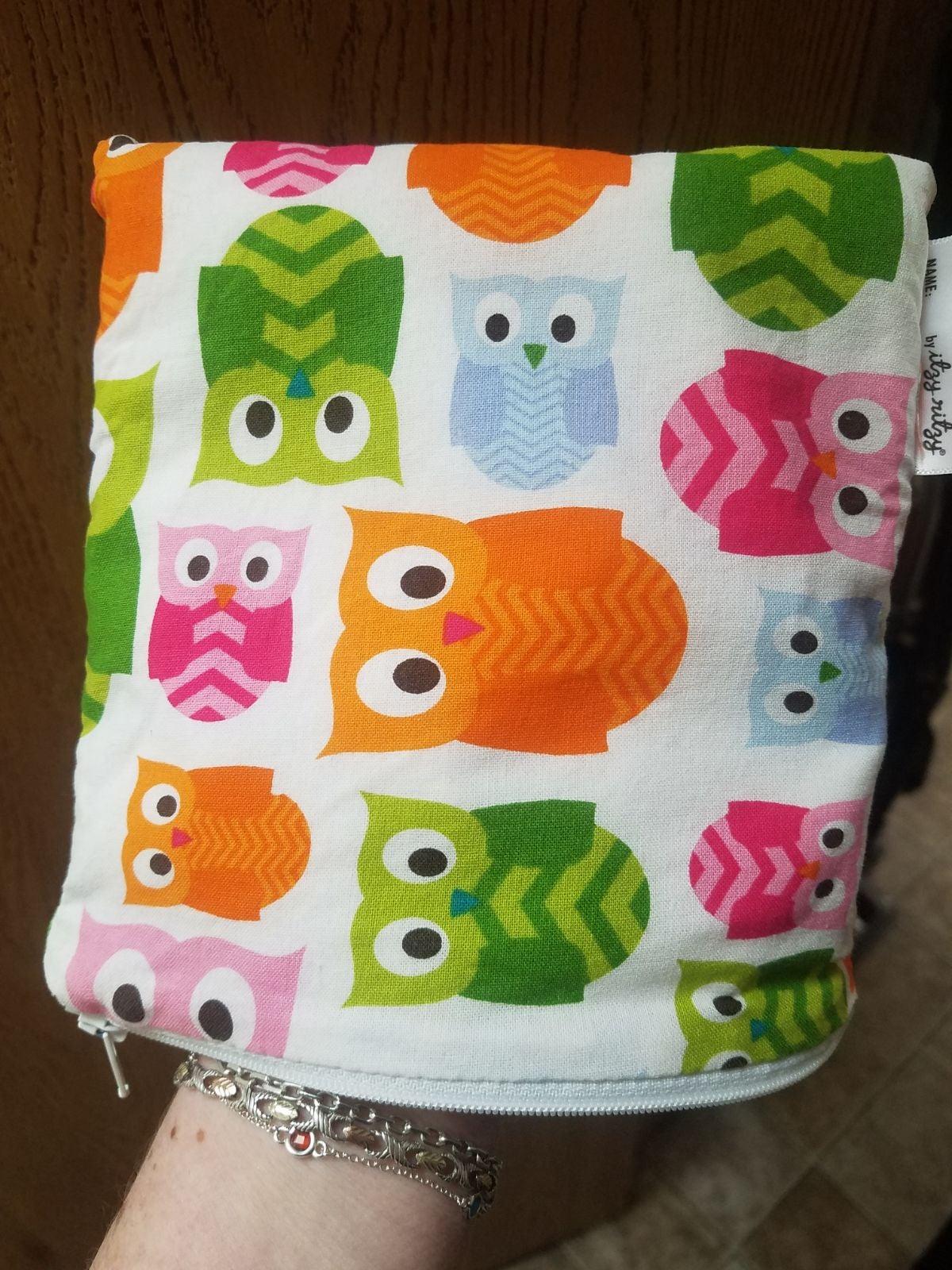 Itzy Ritzy Snack Bag Owl