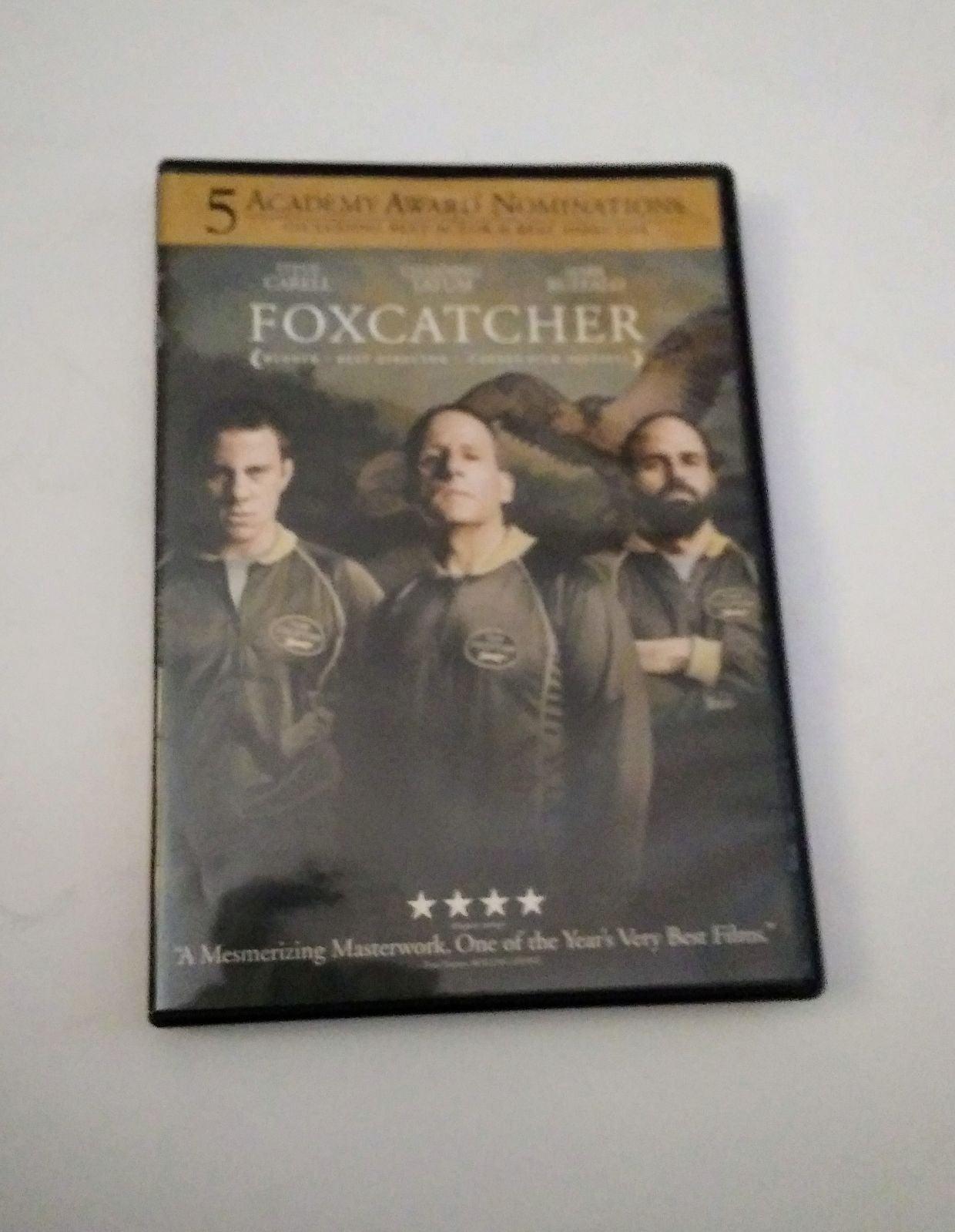 FoxCatcher 5 Academy Award DVD