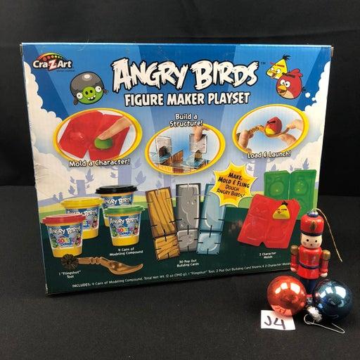Cra-z-art Angry Birds Figure Maker Plays