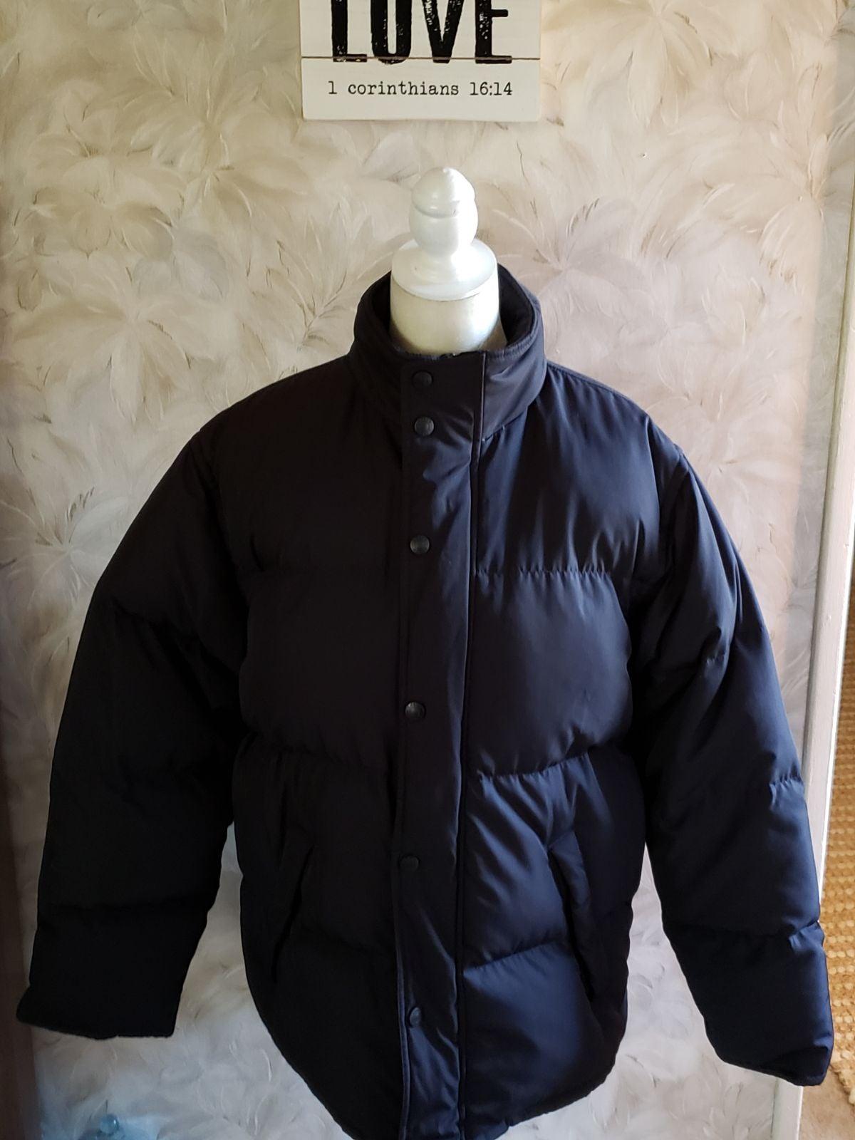 NWOT J.Crew Mens Puffer Coat