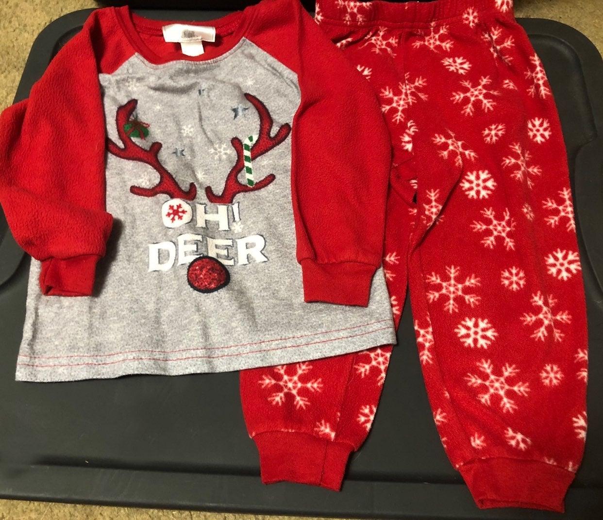 2t Christmas Pajama Set