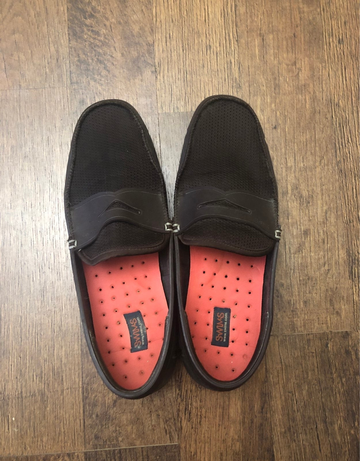 Mens brown Swims loafers size 9
