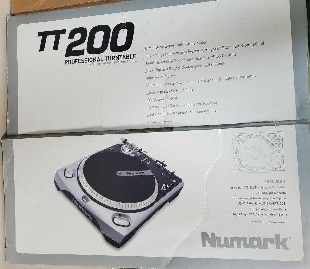 Numark TT200 DJ Turntable