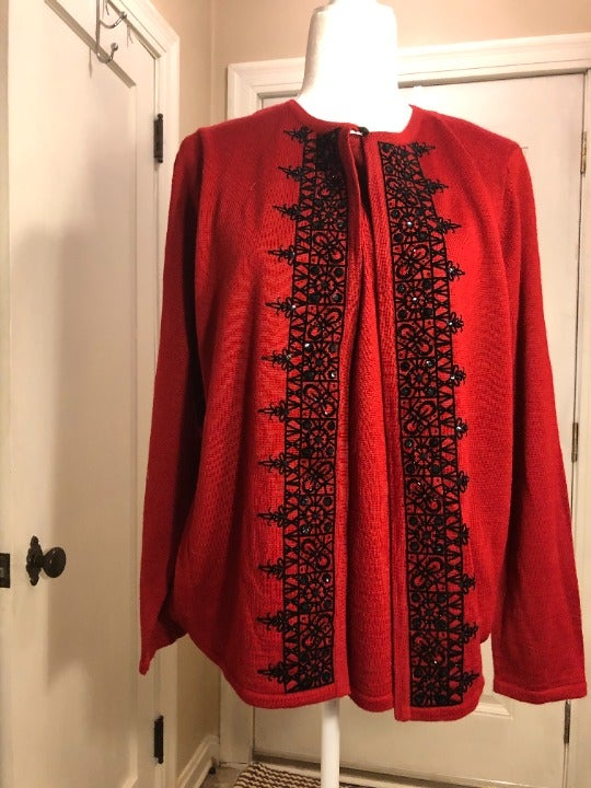 Alfred Dunner Twinset Sweater - M