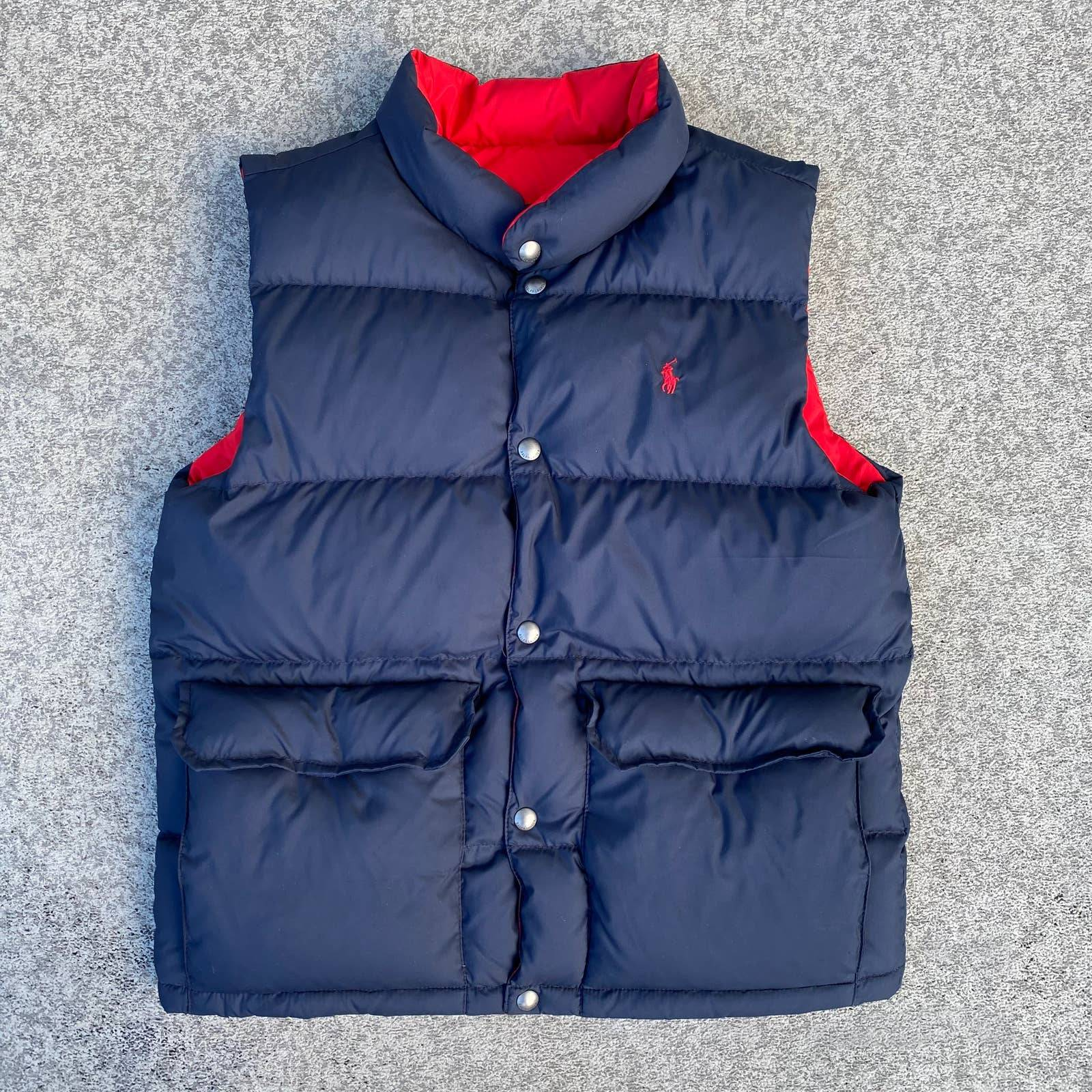 Polo Ralph Lauren Reversible Bubble Vest