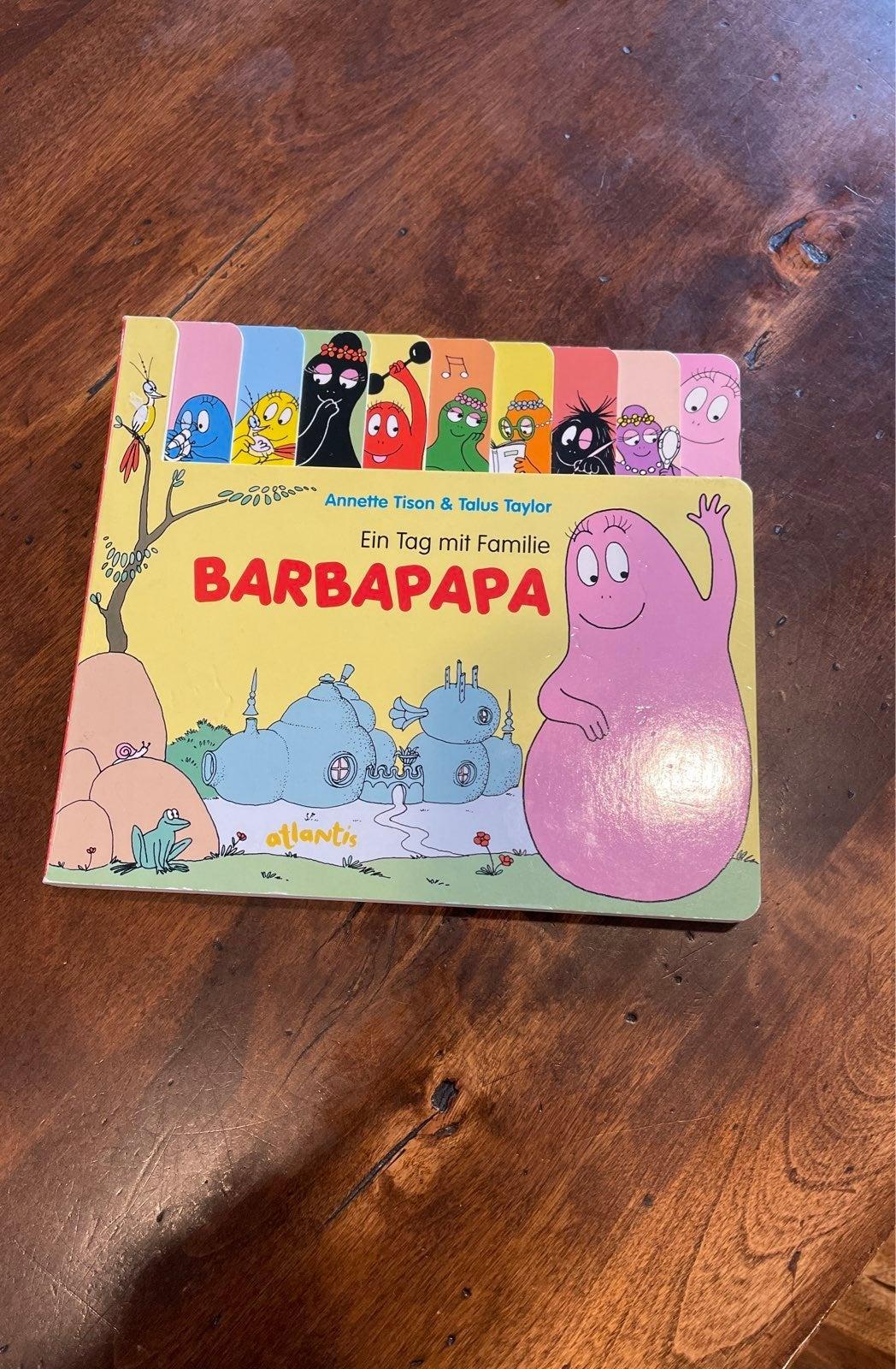 Barbapapa Board Book Tison Taylor