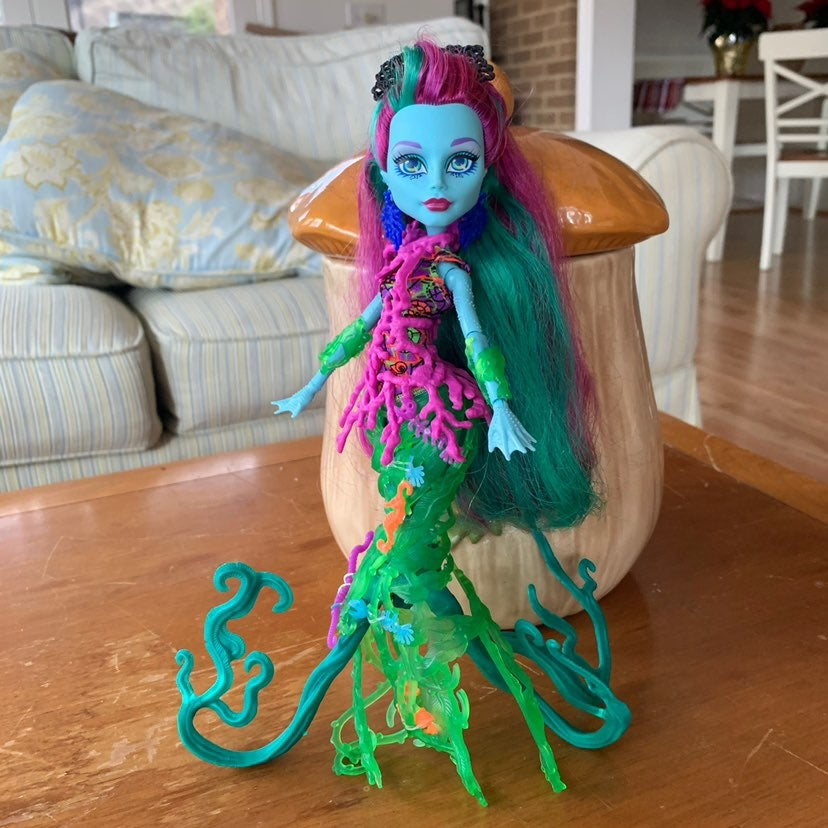 Monster High Doll Posea Reef