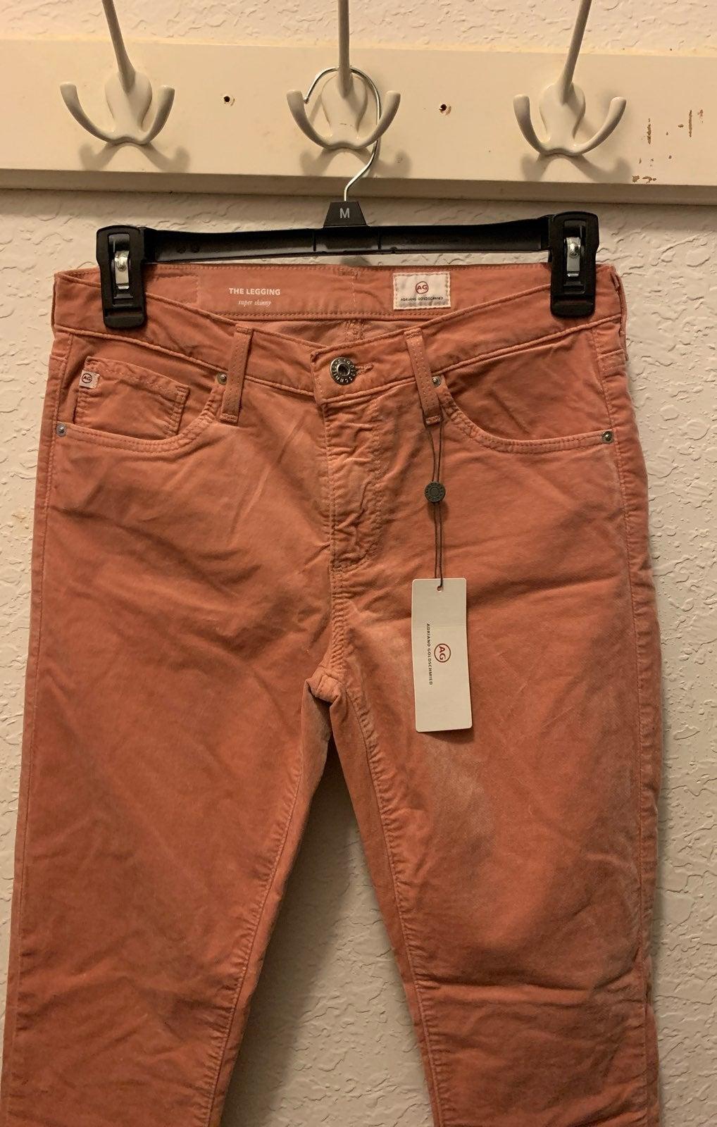 Pink skinny jean leggings
