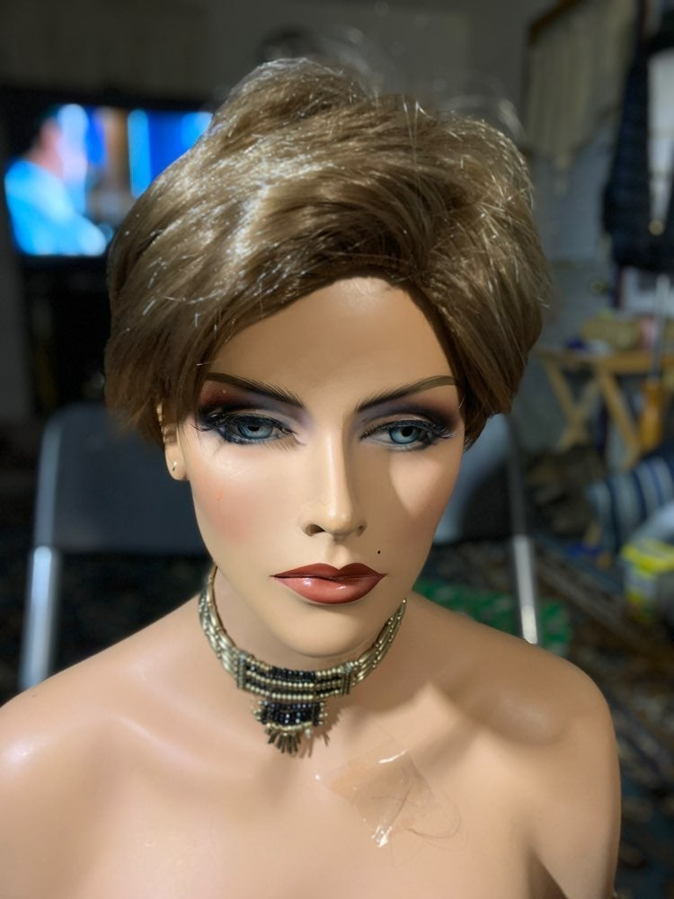 #77 Baruisi neutral gender synthetic wig