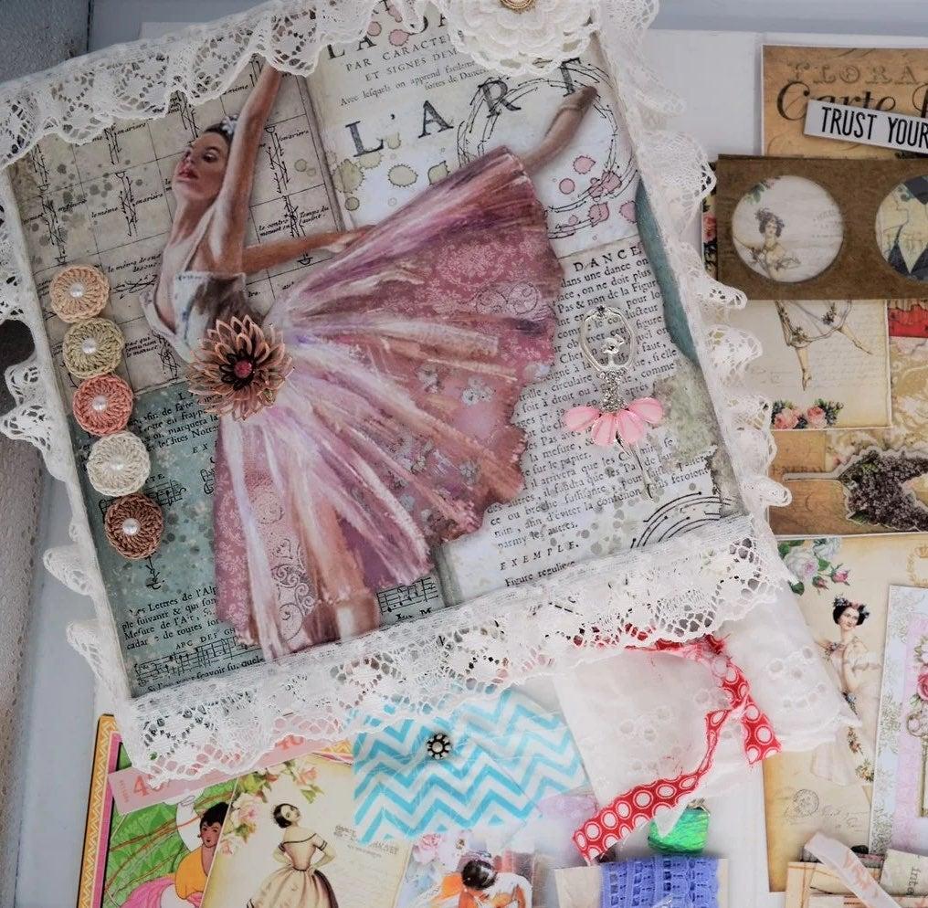 Junk Journal Kit Ballerina