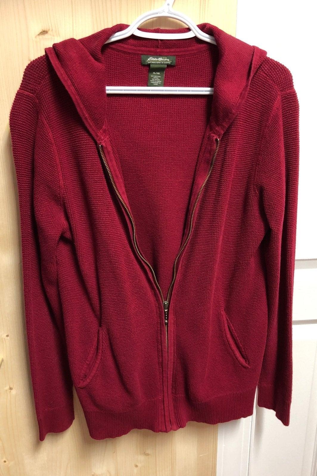 Womens zipper sweater/cardigan