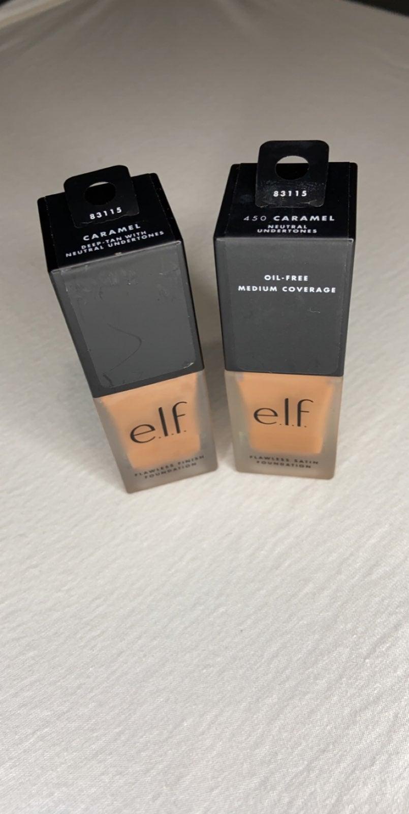 elf makeup 450 Caramel oil free 2 pack