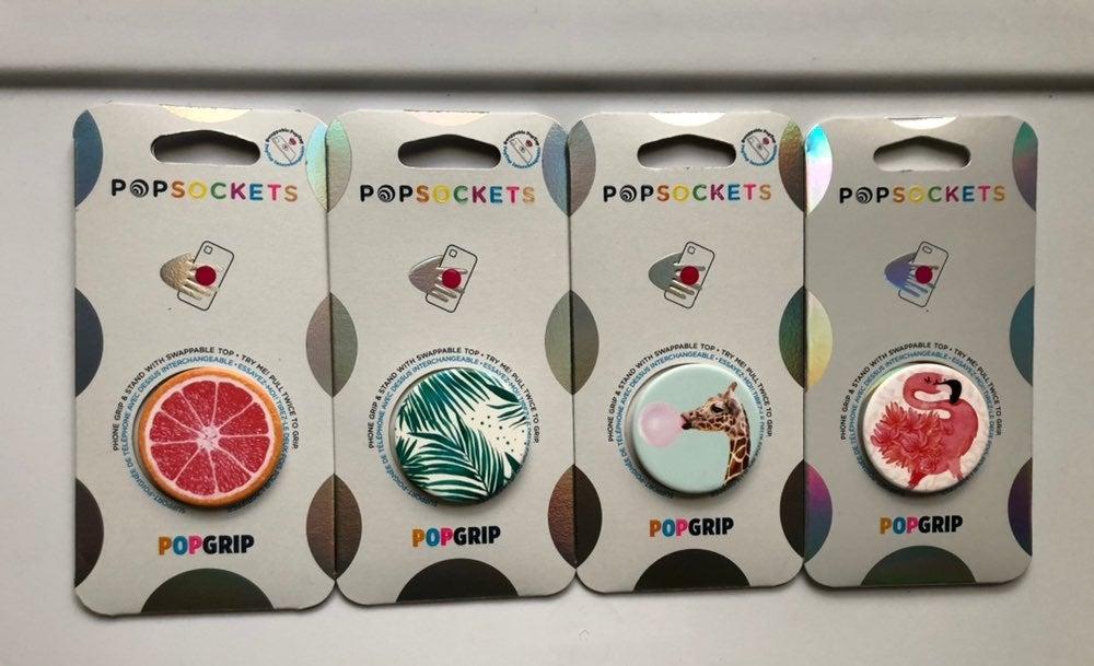 Pop socket bundle 4 pack