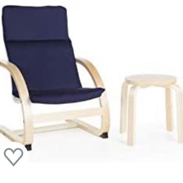 Kids Wooden Chair & Table