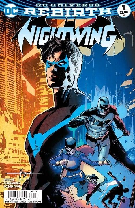 Nightwing #1 DC Comics 2016 NM