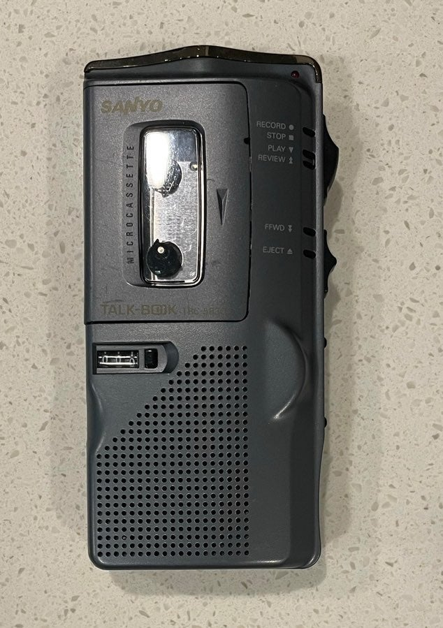 Sanyo talk book recorder TRC5880