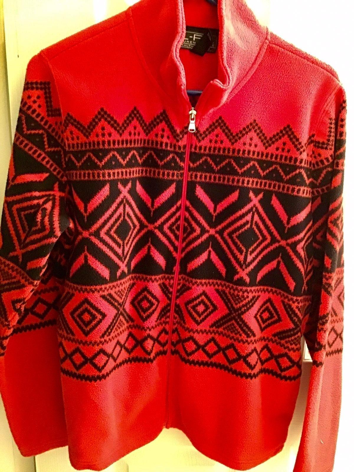 Ralph Lauren fleece jacket XL