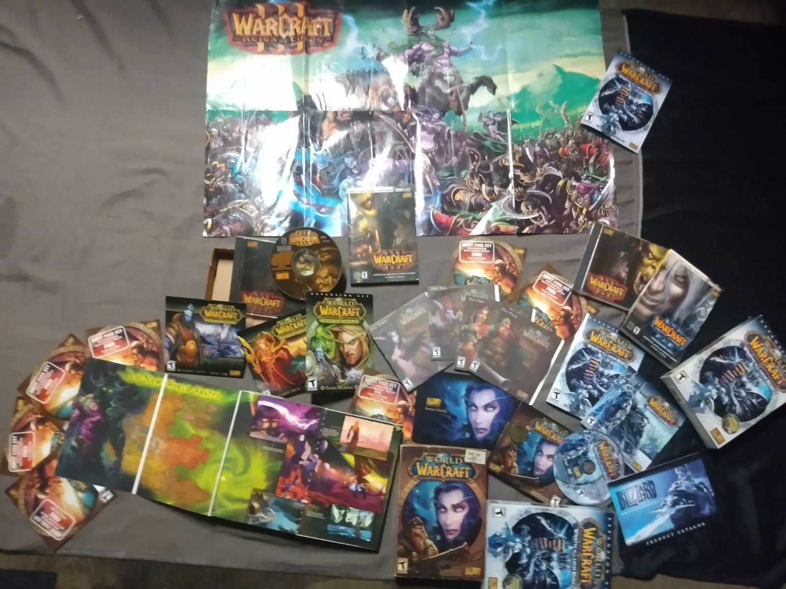 World of Warcraft special edition set PC