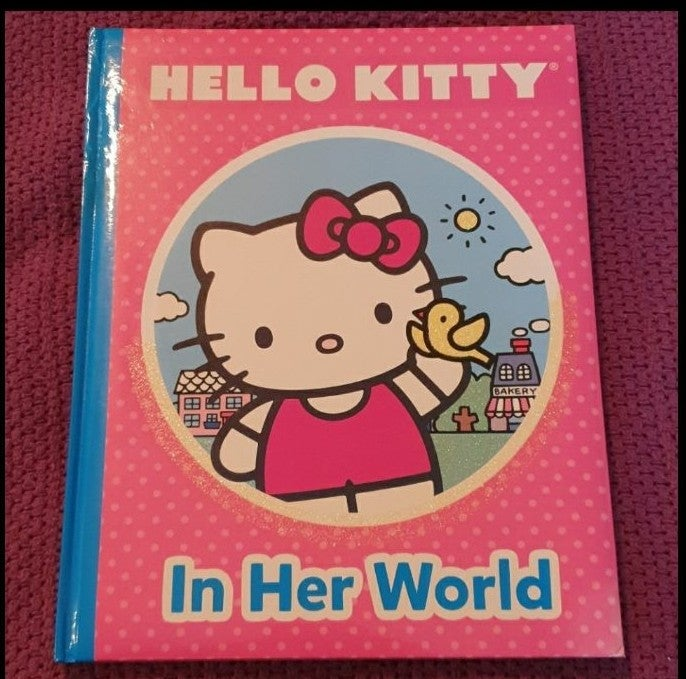 Kids Hello Kitty book *MOVING SALE*