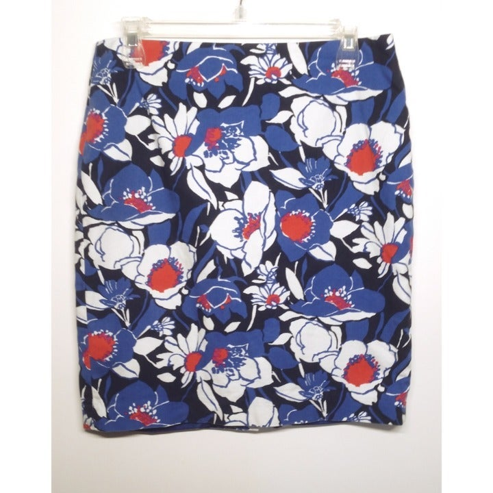 Talbots Floral Skirt Size 8P