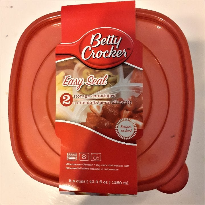 Betty Crocker Storage Containers 5.4 Cup
