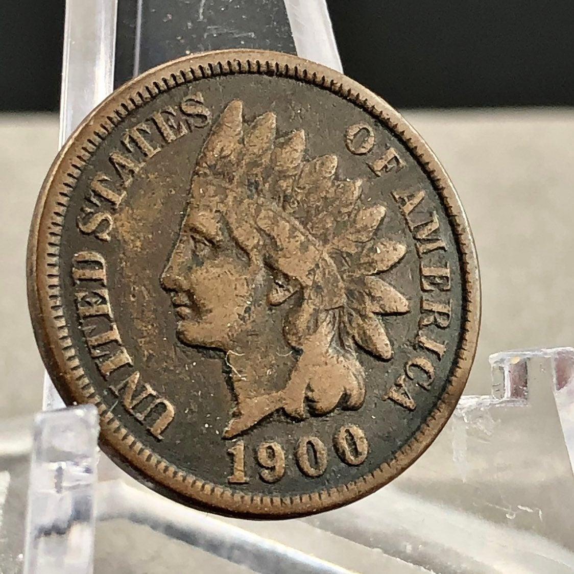 1900 Indian Head Penny Liberty