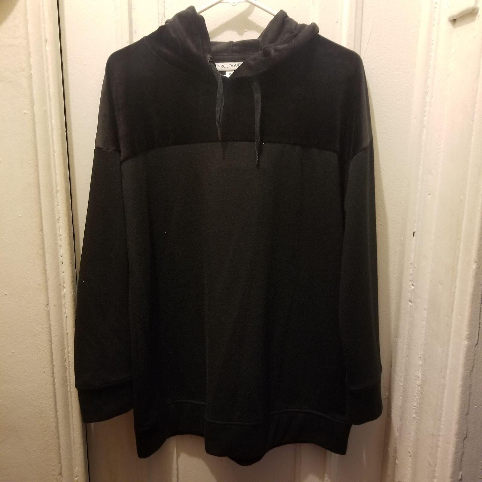 Black Fashion Hoodie