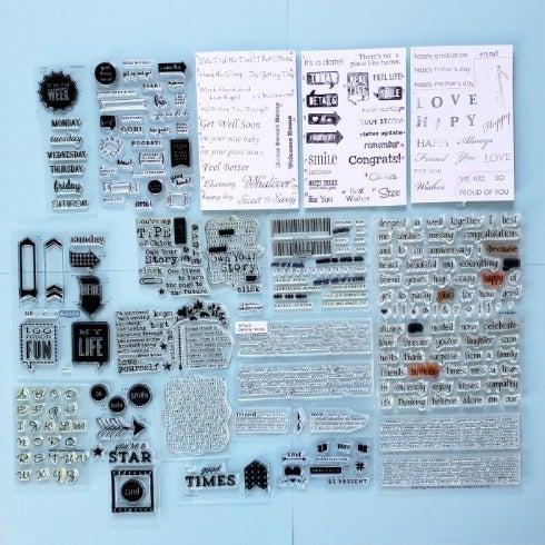 Stamps - Scrapbooking & Journaling