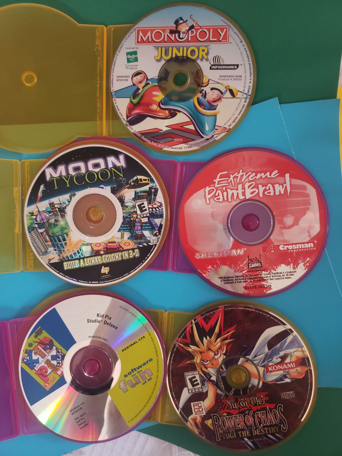 PC Video Game Lot for Kids