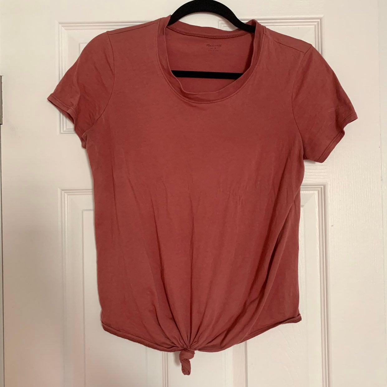 Madewell Pink Cotton T-shirt S