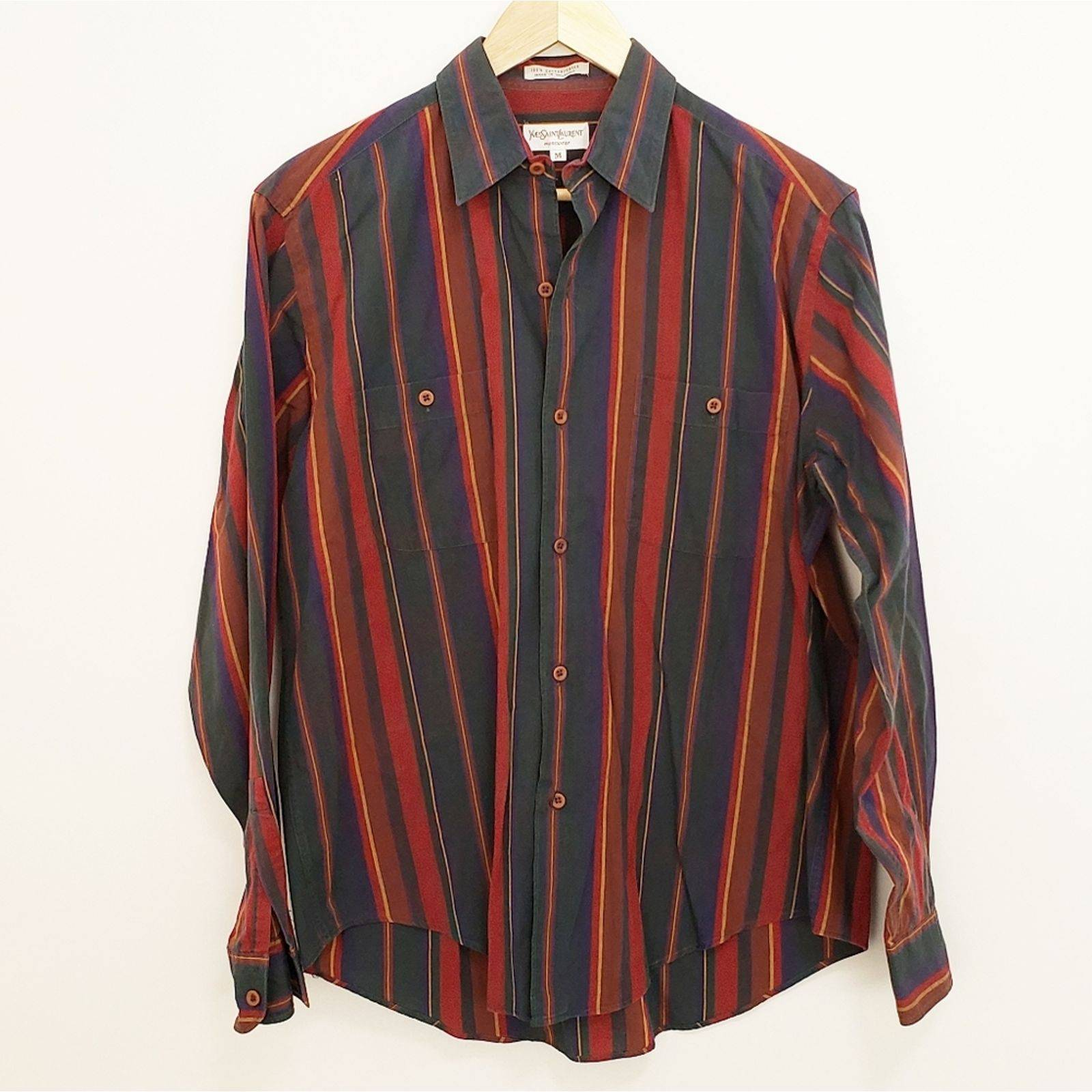 YVES SAINT LAURENT Vintage Men Button-Up