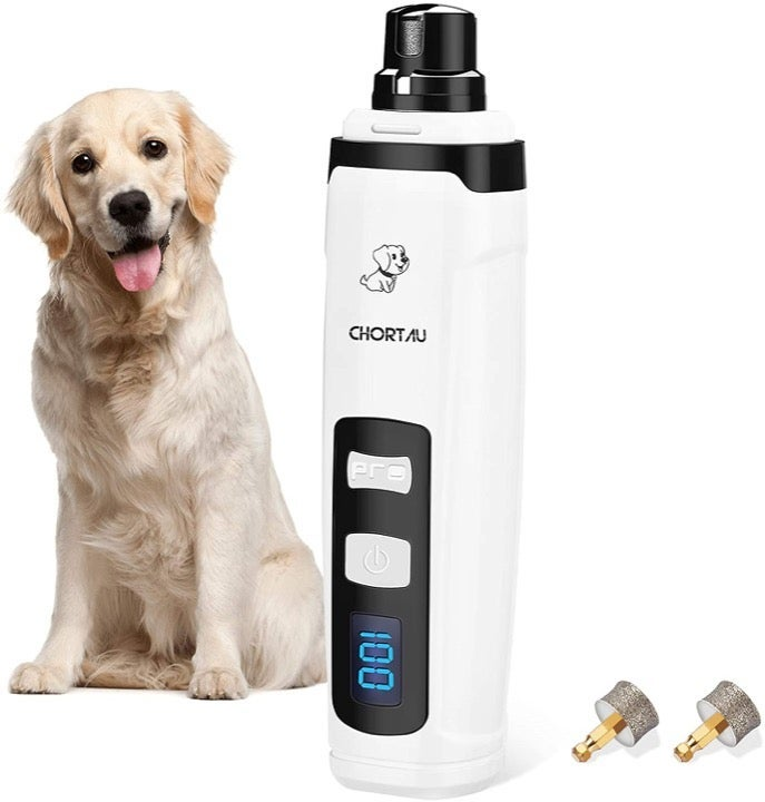 Pet Dog Nail Grinder 2-Speed Trimmers