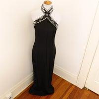 35c85e54317 Jessica McClintock Gunne Sax Linen Gown