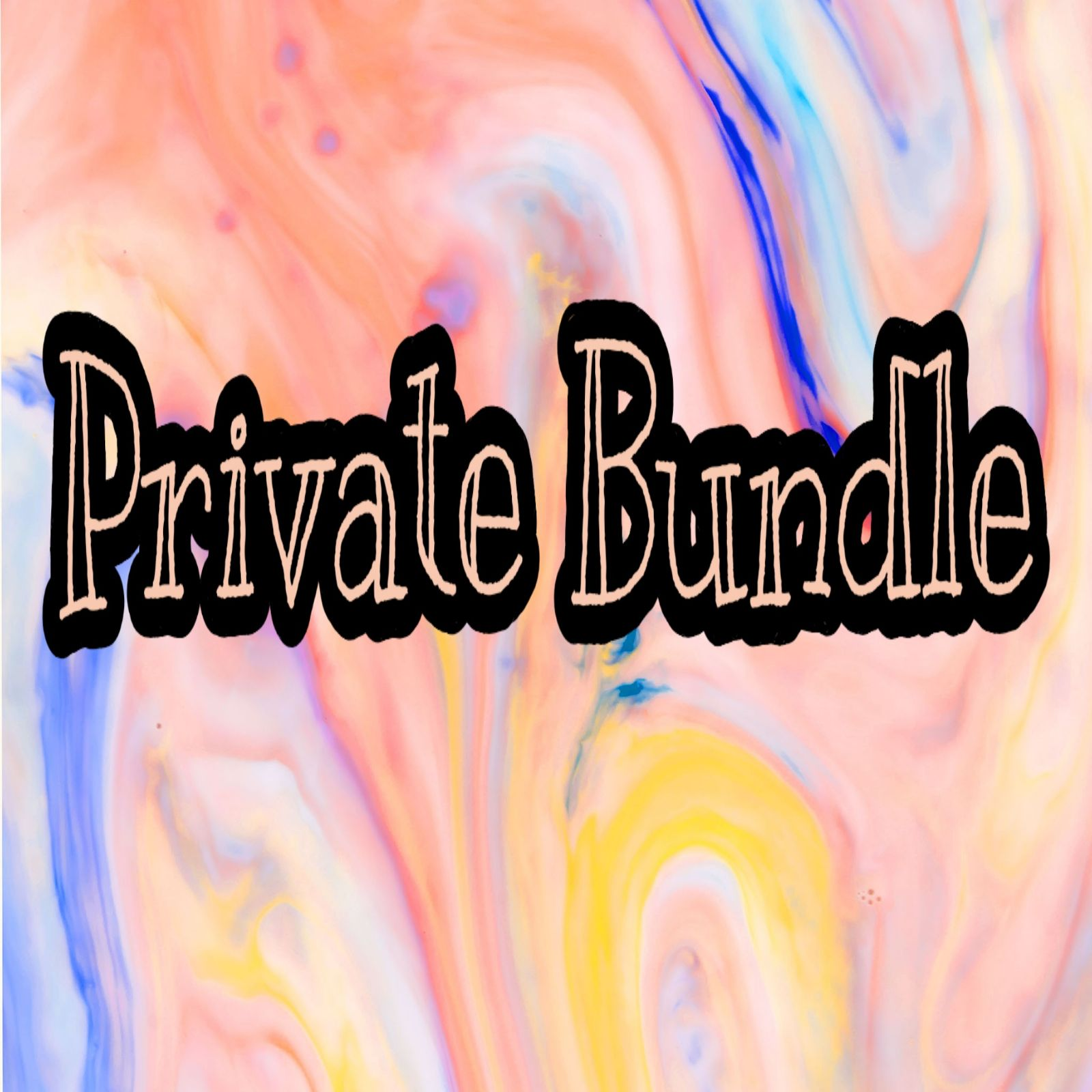Private bundle RESERVED