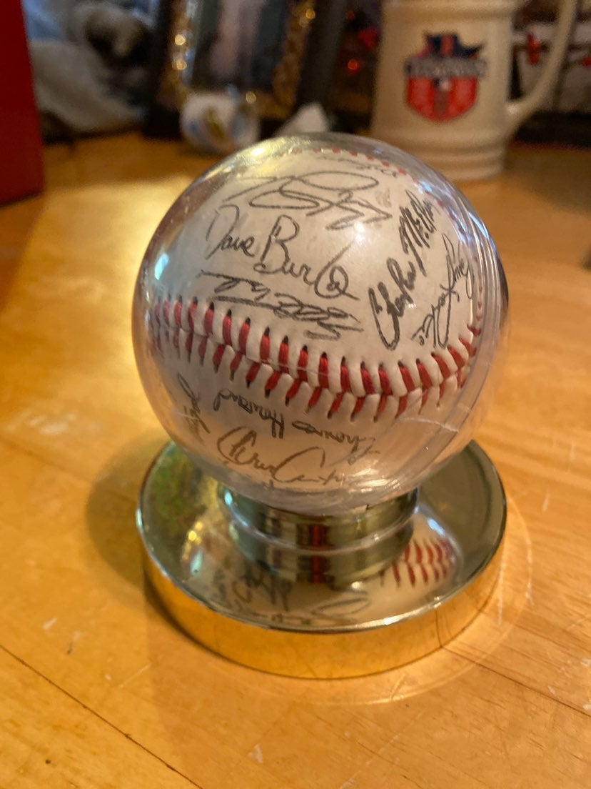 1995 Cincinnati Reds team signed ball