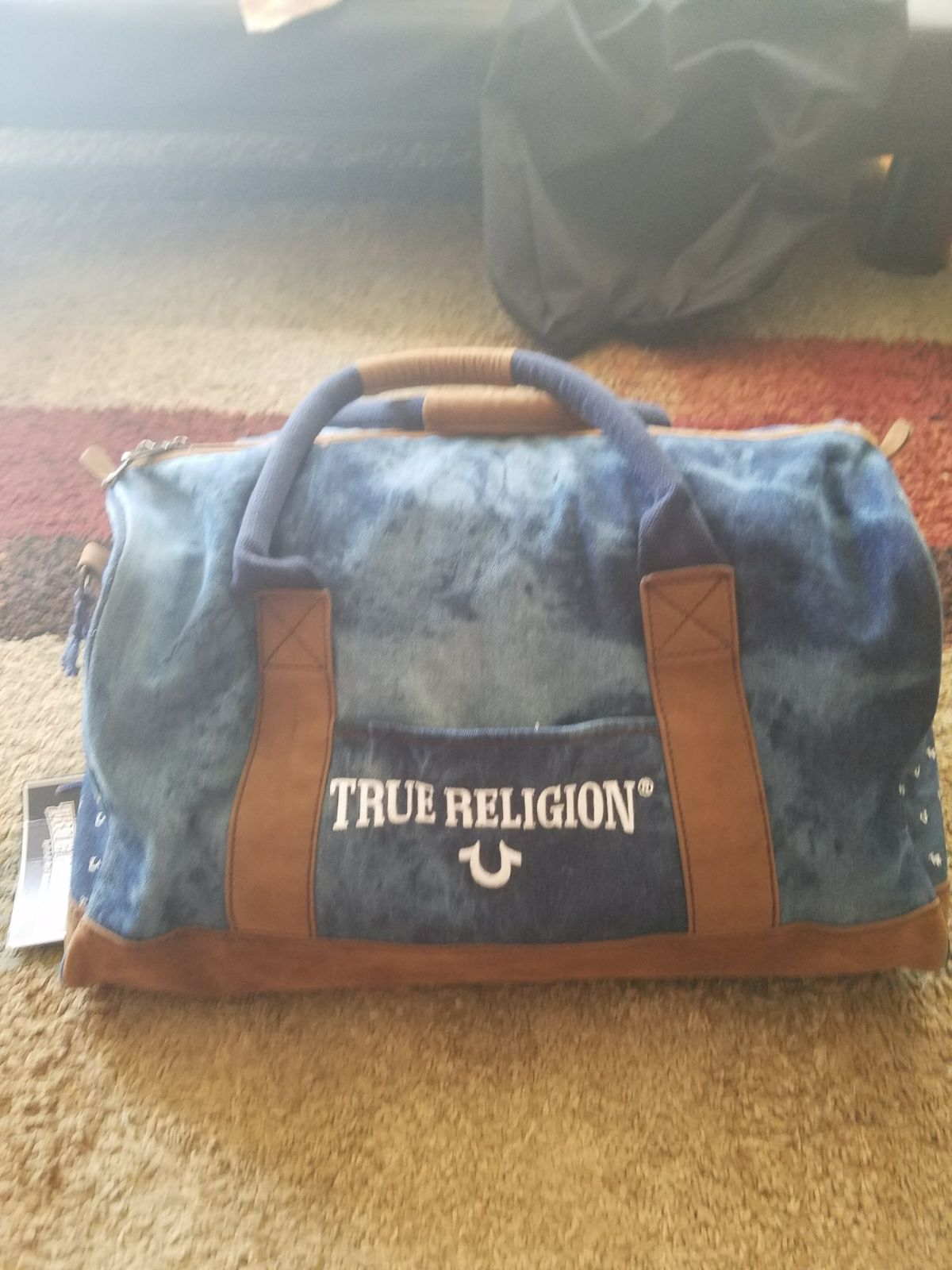 True religion duffle bag