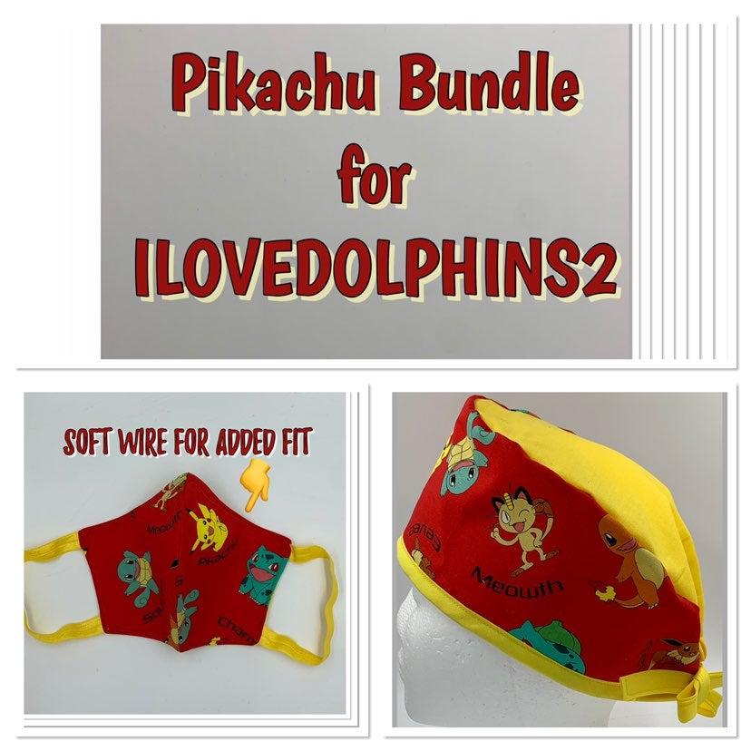 Pikachu Bundle for ILOVEDOLPHINS2