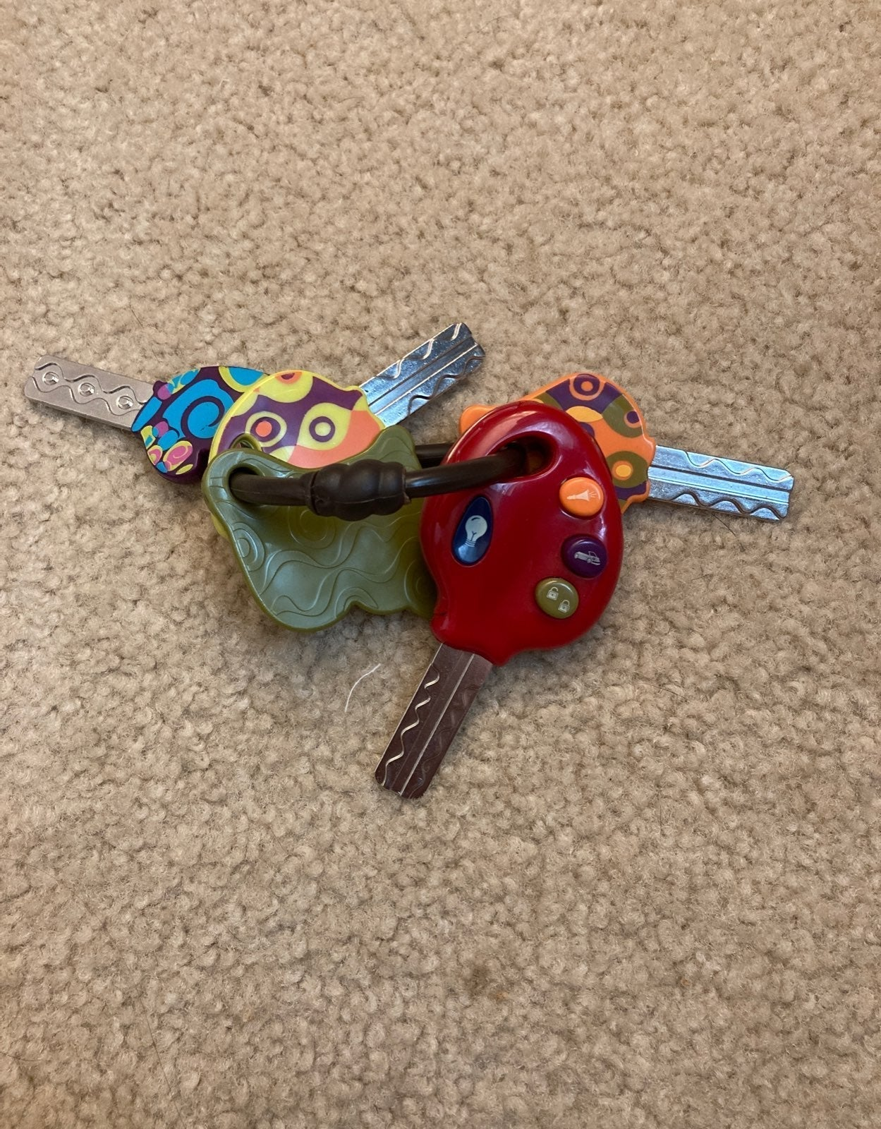 Battat Toy Keys for Baby and Toddler